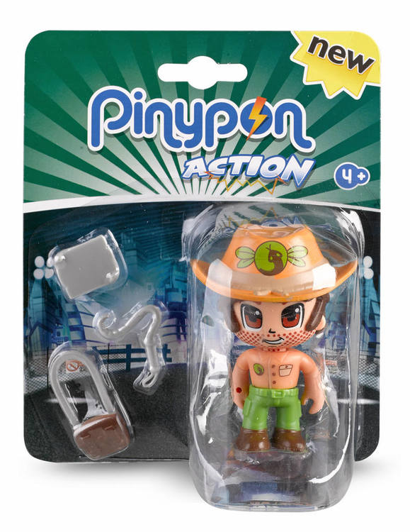 Pinypon Actionfigur Äventyrare