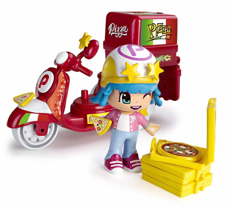 Pinypon Pizzabud moped