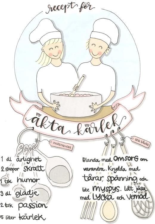 Recept på äkta kärlek