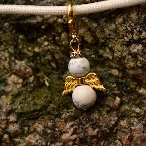 Lyckoängel Marmor & Guld
