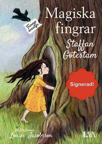 Magiska fingrar - Funnys Äventyr - Signerat