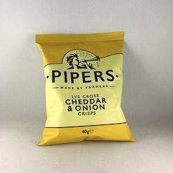 Piper's Crisps - Cheddar & Onion