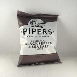 Piper's Crisps - Black Pepper & Sea Salt