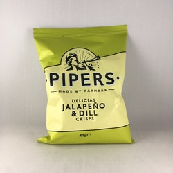 Piper's Crisps - Jalapeno & Dill