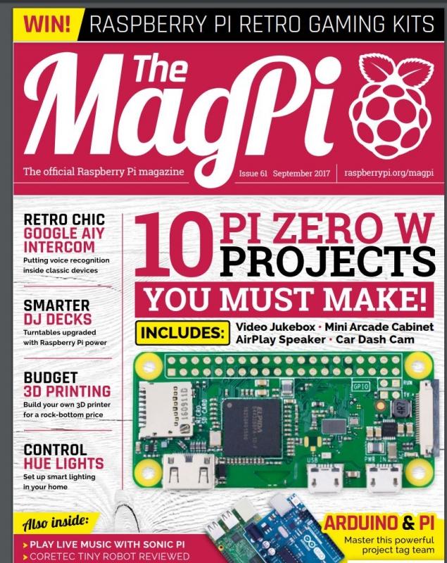E-tinding MagPi #61