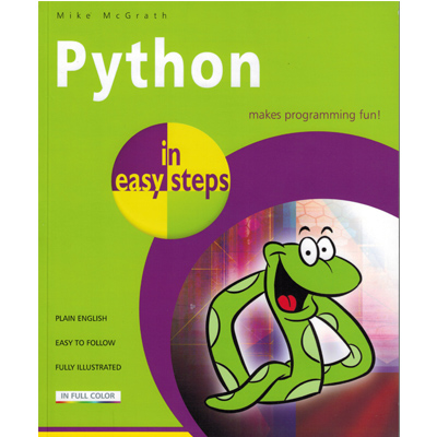 Python in easy step makes programming fun!