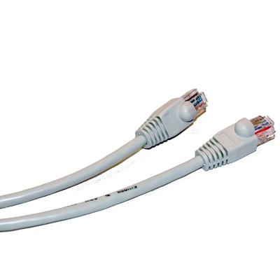 Deltaco Grå Nätverkskabel 15m Cat6