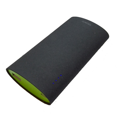 DELTACO Power bank 3 - 5 000 mAh, portabelt batteri till RPI