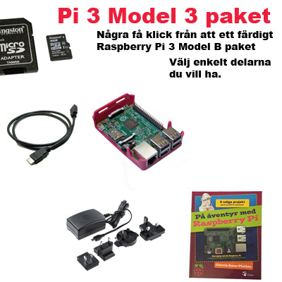 Raspberry Pi 3 Model B ungdomspresent