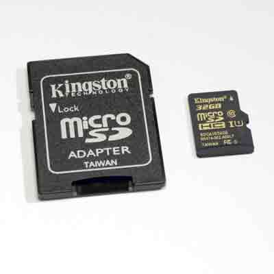 Kingston 64  GB class U3 microSD