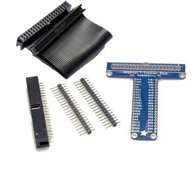 Pi T-Cobbler Plus Kit - Breakout for Raspberry Pi A+, B+, RPI2 och RPi3
