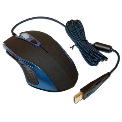 Deltaco gamingmus med 5 knappar USB