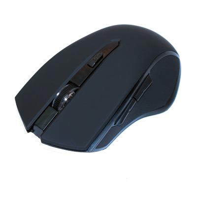 Deltaco trådlös optisk mus - svart - bild 2