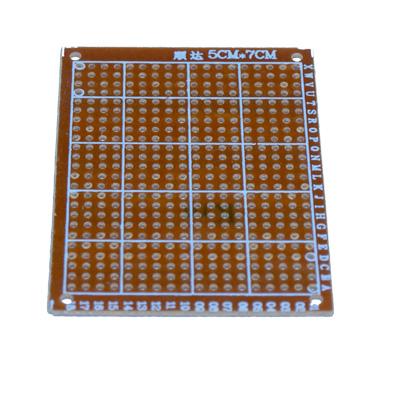 Prototypkort med 276 hål 70 x 51 mm