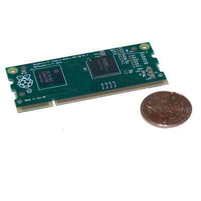 Raspberry Pi 3 compute module I/O