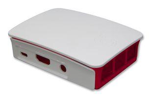 Raspberry Pi 3 låda röd/vit