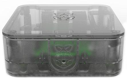 Raspberry Pi Quattro låda med VESA-fäste - klar
