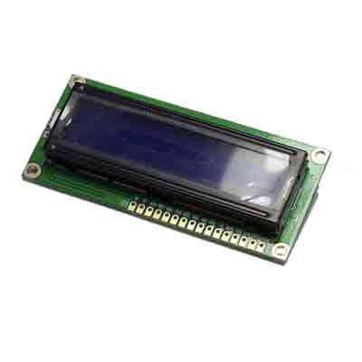 Display 16 x 2 blå skärm - bild 1