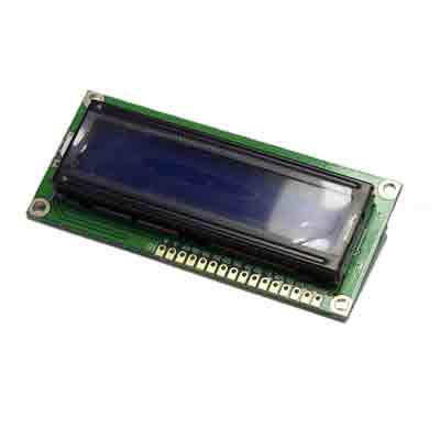 Display 16x2  och I2C kort - bild framsida