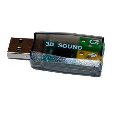 USB ljudkort för Audio 5.1 extern USB