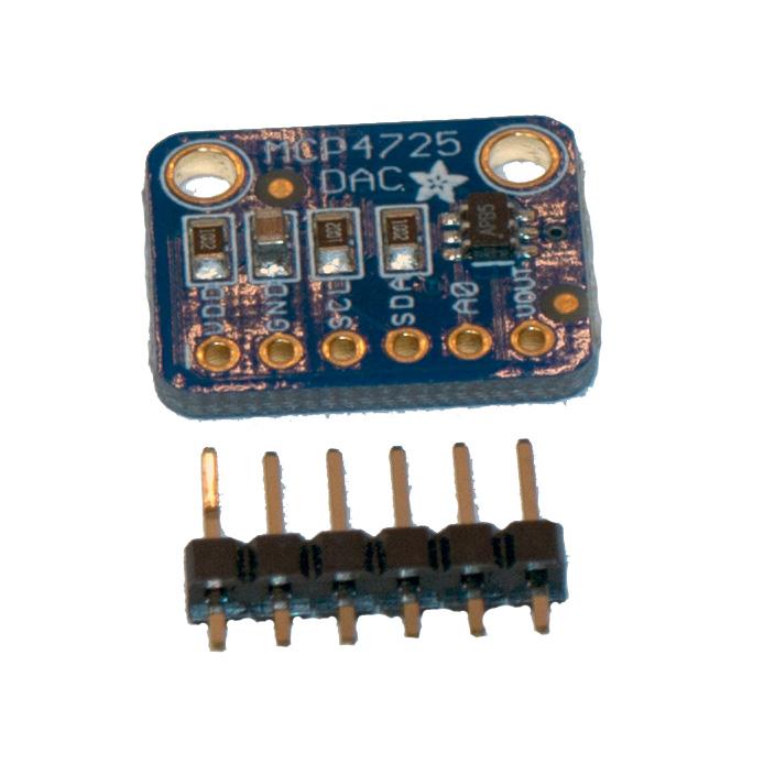 AdaFruit MCP4725 Digital till analog omvandlare DAC