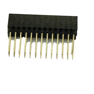 GPIO-kontakt hona/hane - bild ben 14 mm - endast 26 ben