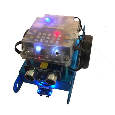 mBot STEM Blue V1.1 - robotstartkit - visningsex