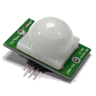 PIR (Passiv Infraröd) sensor på kretskort