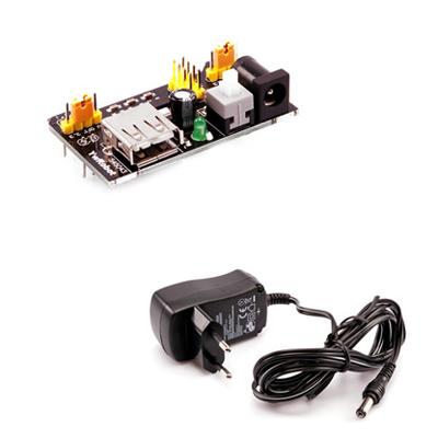 Regulatorkort med strömförsörjare