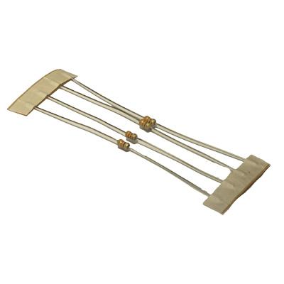 Resistor i värden kolfilm 10-pack - bild på 330 ohm