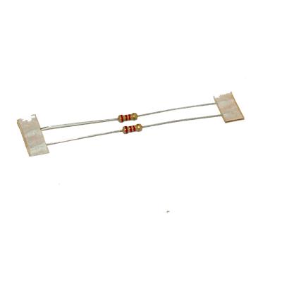 Resistor i värden kolfilm 10-pack - bild 2,2  k ohm