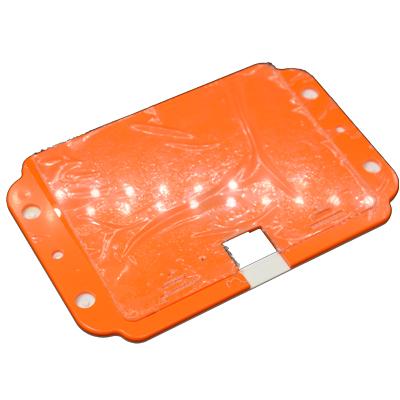 Pi Supply låda för det stora Flick  kretskortet - bild baksida