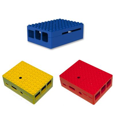 PiBlox för Pi 3 i flera färger
