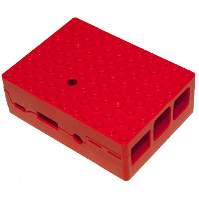 PiBox för Pi 3 i rött - bild