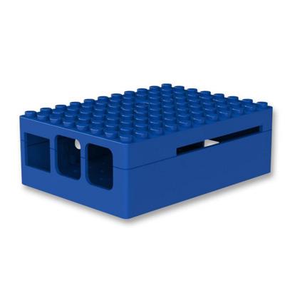 PiBox för Pi 3 i blått - bild