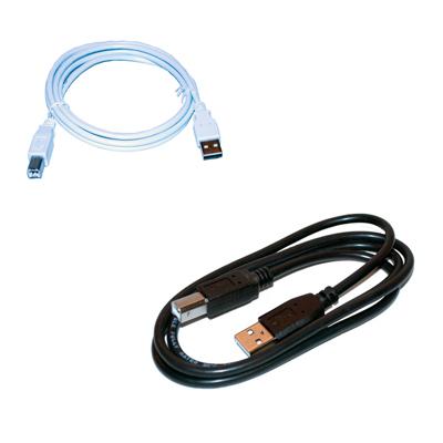 USB-kabel hane A till hane B - Skrivarkabel - bild