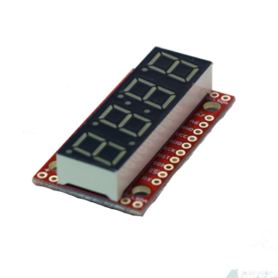 Sparkfun Digit 7 Segment Display modul med ATMega328