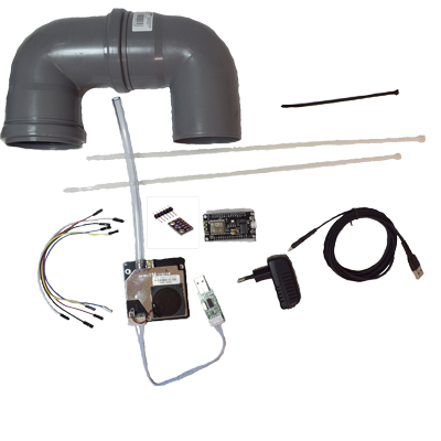 Luftdatas Luftpaket med allt inklusive partikelmätare med BME280