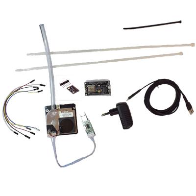 Luftdatas Luftpaket med allt inklusive partikelmätare med BME280 utan kapsling