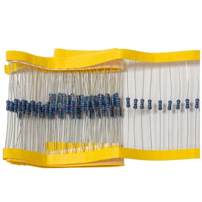 Resistor i värdena 68 - 10 K ohm i metallfilm 10-pack