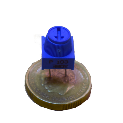 Trimpotentiometer  10 K - bild
