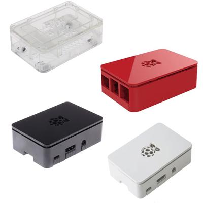 Låda till Raspberry Pi 3 Model B+ - Design Spark svart eller klar.