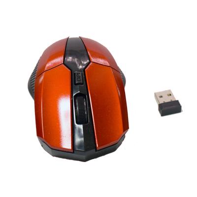 Minimus -röd med knappar och scrollhjul