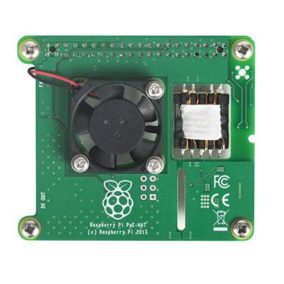 Raspberry Pi PoE_kort för Raspberry Pi Raspberry Pi