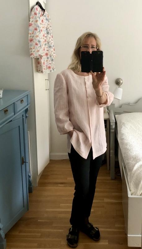 Dagens outfit i ny blus