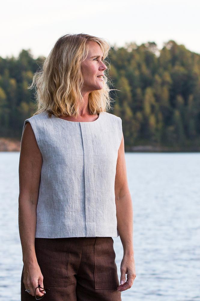 Top Elsa i cert linne. Sys i Sverige.