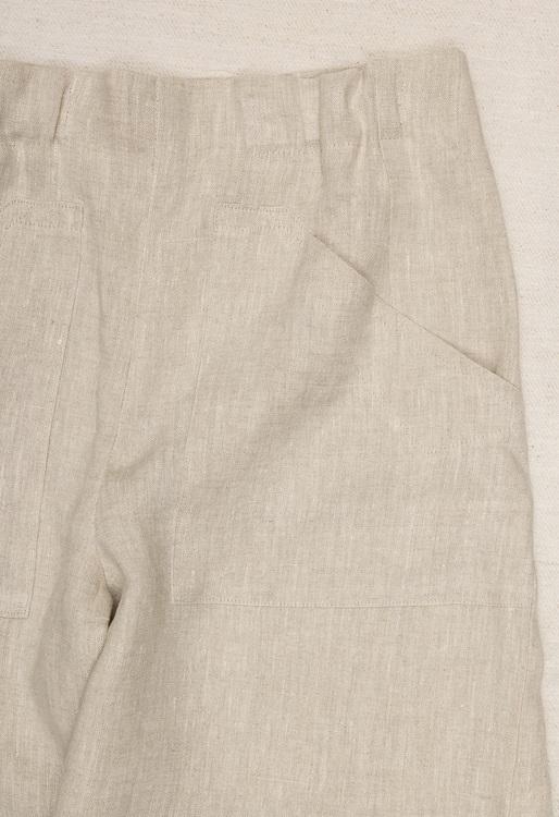 Culotte byxa i cert linne. Sys i Sverige.