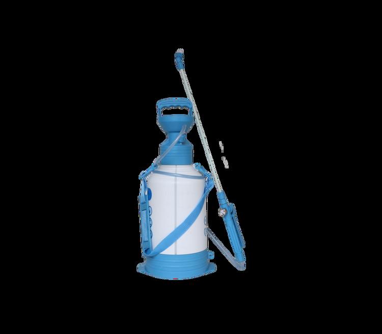 Blå Spruta