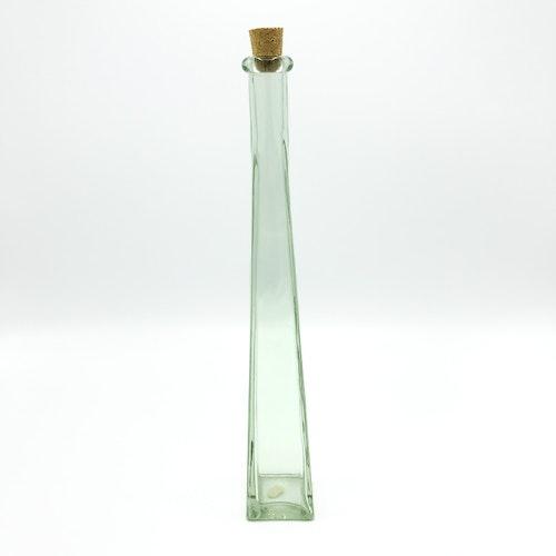 Hög smal flaska