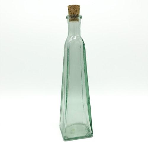 Konisk fyrkant flaska